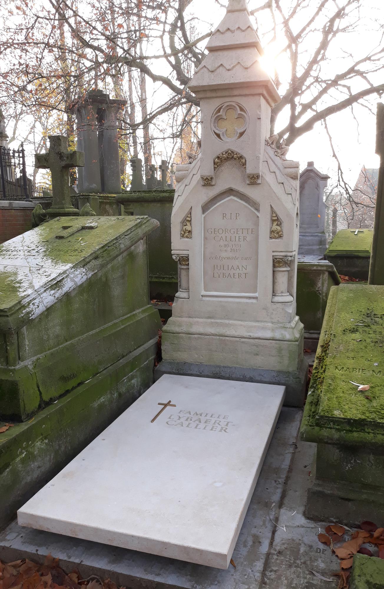 Restauratie van historisch grafmonument