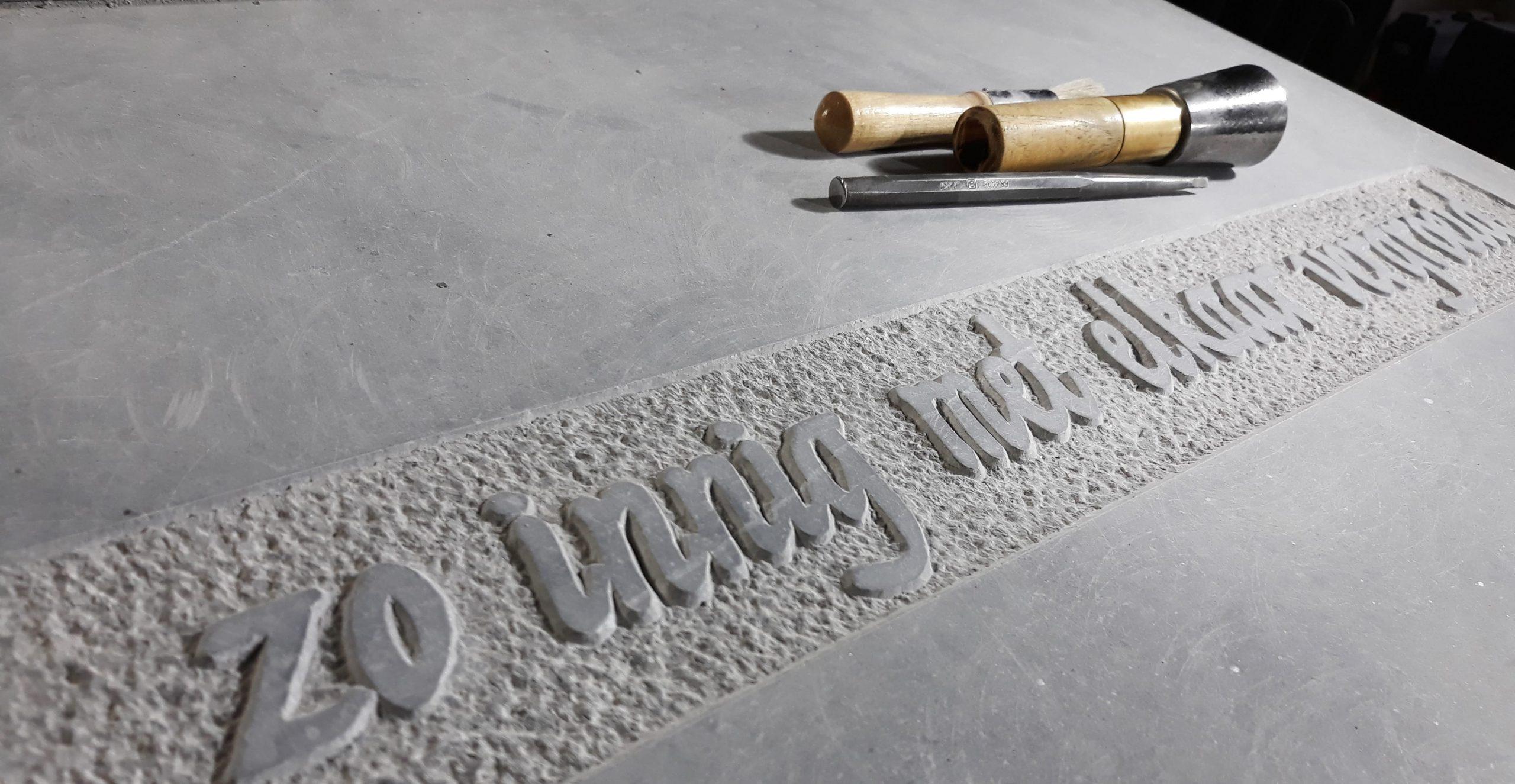 Letterkappers.be - letters in natuursteen