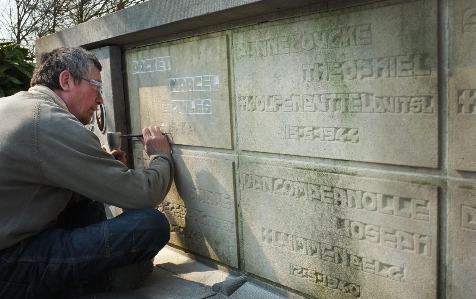 oorlogsmonument te Torhout