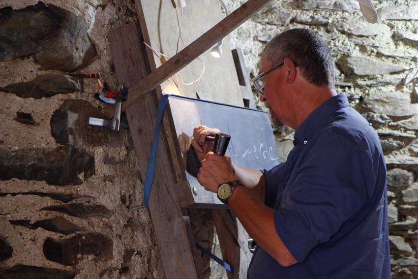 Filip Martin, ambachtelijk letterkapper en steenbewerker